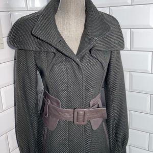 Mackage Grey/Green Wool  Coat